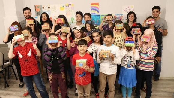 Türkiyeli ve Suriyeli Çocuklardan Hayal Şehri!