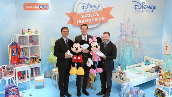 Disney, TeknoSA ile Türkiye'de!