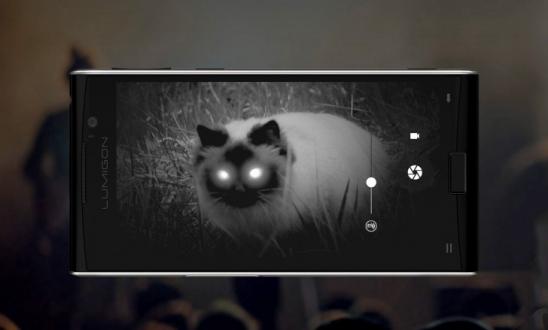 Gece Görüş Kamerasına Sahip İlk Telefon!