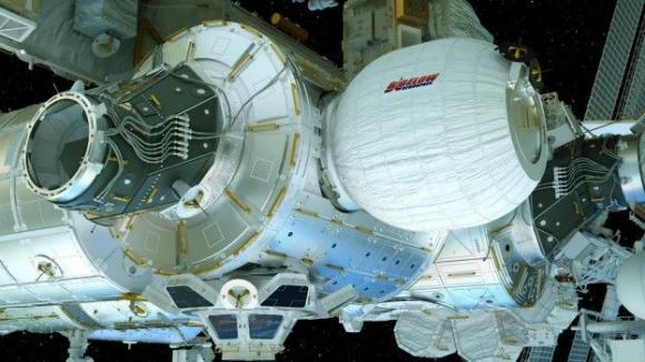 NASA'nın Şişme Odası İlk Kez Görüntülendi