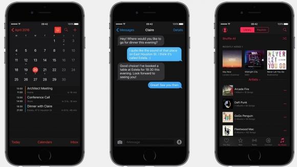 iOS 10, Siyah Tema ile mi Gelecek?