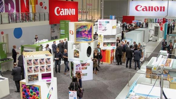 Canon, Drupa 2016'da Yeni Baskı Çözümlerini Tanıttı