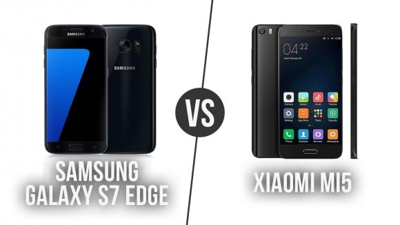 Galaxy S7 Edge – Xiaomi Mi 5 Karşılaştırma