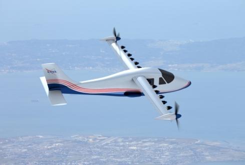 NASA Elektrikli Uçak Yaptı!