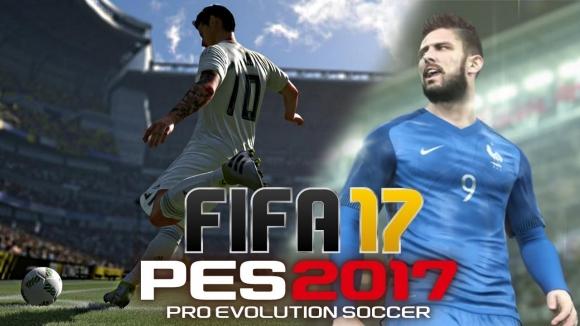 PES 2017 ve FIFA 17 Karşılaştırması!