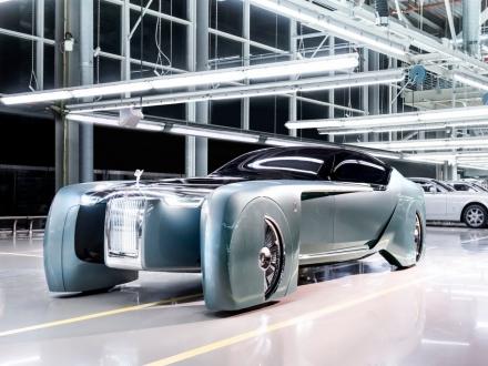 Rolls Royce Sürücüsüz Otomobilini Tanıttı!