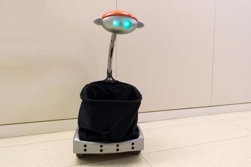 Sizi Takip Eden Robot Alışveriş Arabası