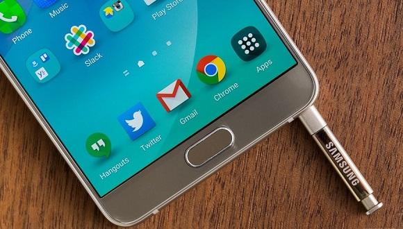 Galaxy Note 5'e Yeni TouchWiz Yüklendi