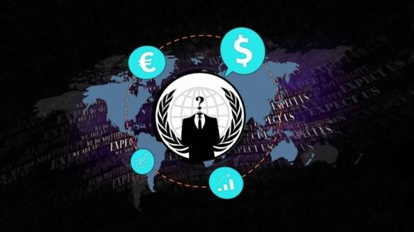 Anonymous Gözünü Bankalara Dikti!