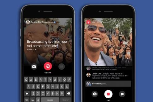 Facebook, Canlı Yayın için Servet Harcadı