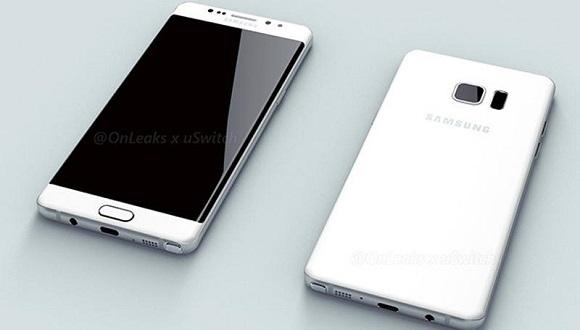 Galaxy Note 7 Özellikleri ve Renk Seçenekleri