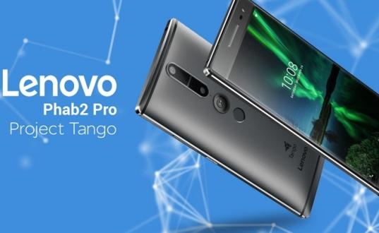 Lenovo PHAB 2 Pro, Google Tango ile Geliyor