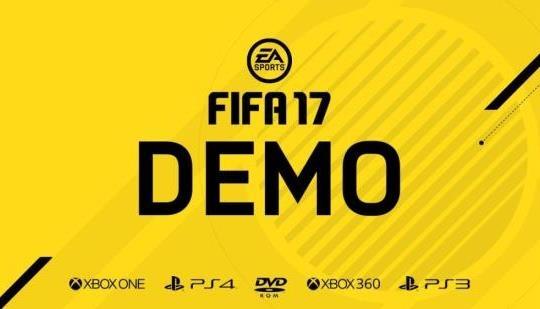 FIFA 17 Demo Detayları Açıklandı!