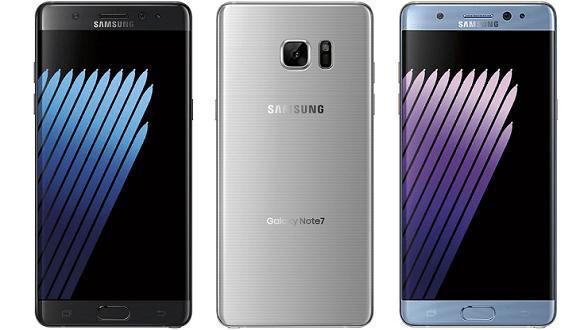 Galaxy Note 7'de Ekran Sürprizi