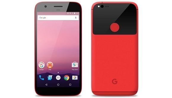 HTC Nexus Telefon Renklendi