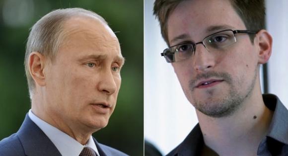 Edward Snowden, Putin'e Karşı Konuştu