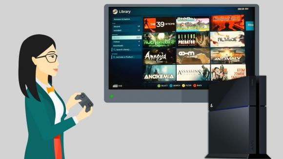 Steam, PlayStation 4'e Geldi!