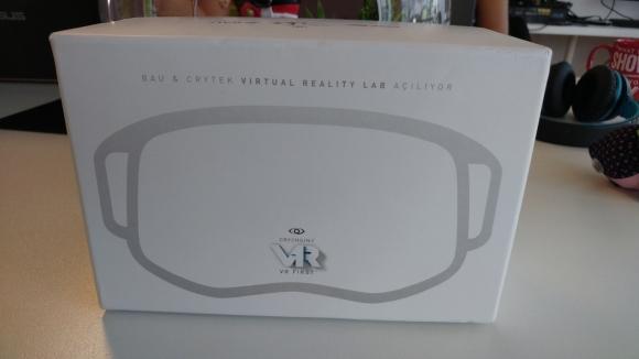 CryEngine VR Gözlük Hediye Ediyoruz