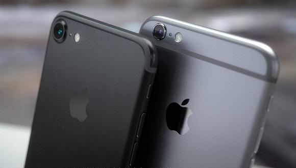 iPhone 7 ve iPhone 6s Yan Yana