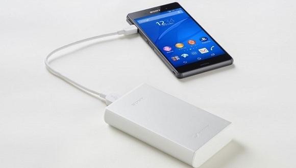 Sony'den 15000 mAh'lik Yeni Powerbank!