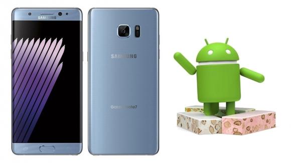 Note 7, Android Nougat ile mi gelecek?