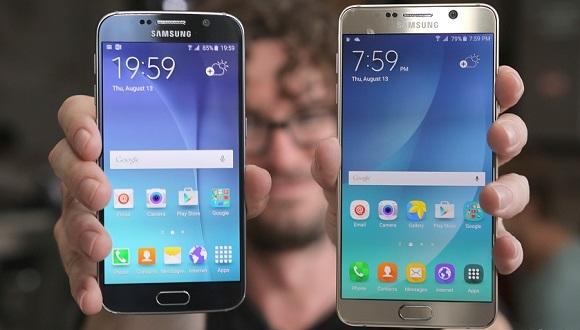 Galaxy S6 ve Note 5 için Yeni Güncelleme