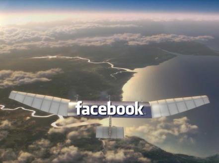 Facebook'tan Güneş Enerjisi ile Çalışan Drone
