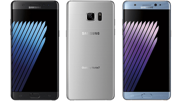 Galaxy Note 7'nin Basın Görüntüleri Sızdı