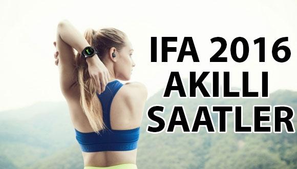 IFA 2016'da Tanıtılan Akıllı Saatler