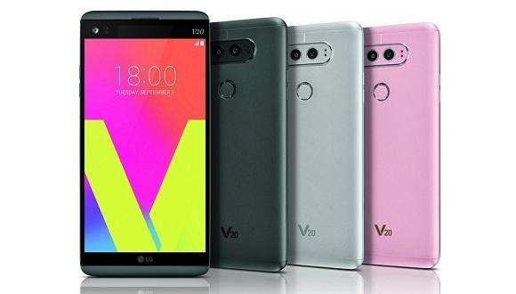 LG V20 Tanıtıldı! İşte Özellikler!