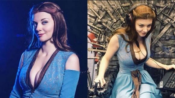 Rus kızdan gerçek gibi cosplayler!