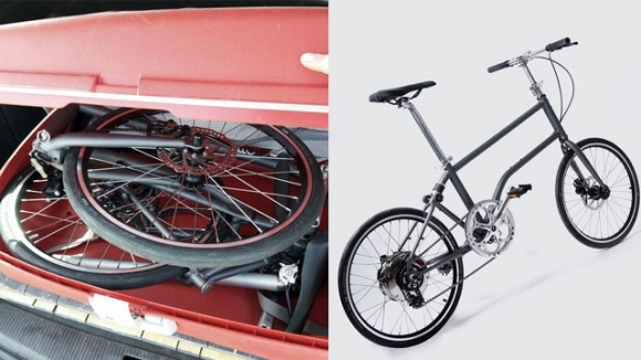 Katlanabilir bisiklet Kickstarter'da!