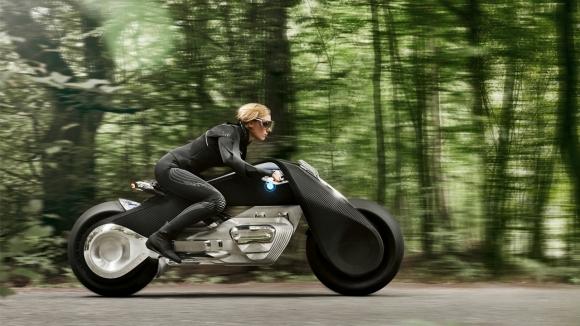 BMW'den geleceğin motorsiklet konsepti!