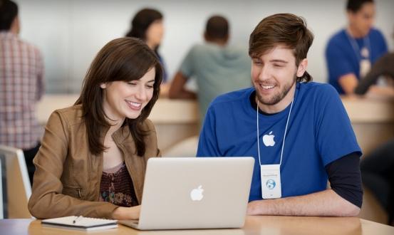 Apple Store çalışanlarından kadınlara taciz!