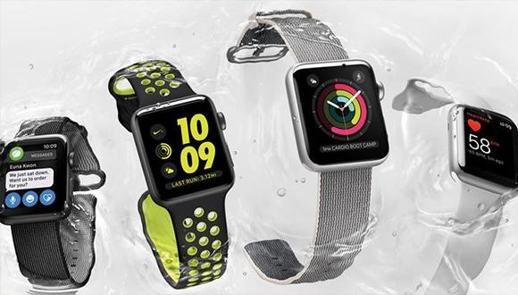 Apple Watch Series 2 kutusundan çıkıyor