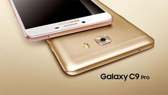 6 GB RAM'li Galaxy C9 Pro tanıtıldı!