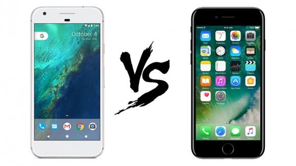 Google Pixel mi yoksa iPhone 7 mi hızlı?