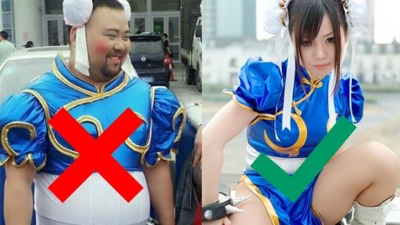 Kadın cosplayi yapan erkekler yasaklandı!
