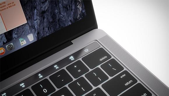macOS'ta yeni Macbook Pro detayı