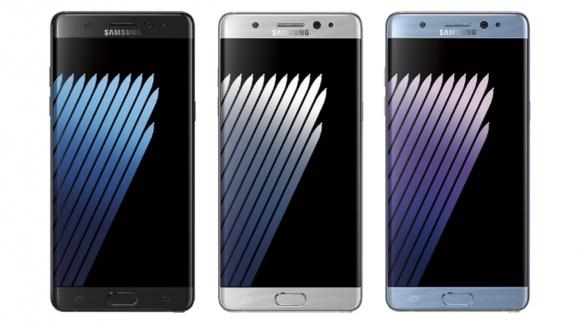 Galaxy Note 7 için batarya güncellemesi!