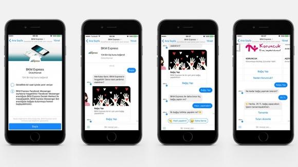 Facebook Messenger ile bağış yapın