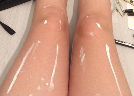 Sosyal medyayı ikiye bölen bacak fotoğrafı