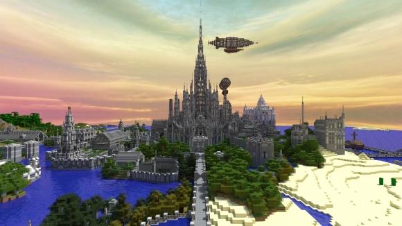 Şato için Minecraft'ta 5 yılını harcadı!