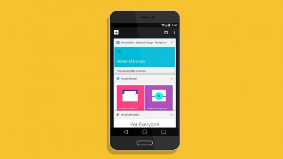 Android'de yeni tasarım değişikliği!