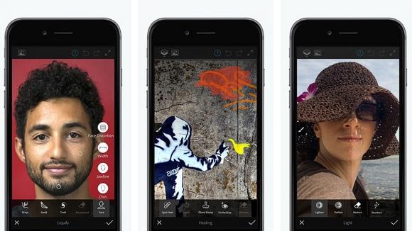 Adobe Photoshop Fix, nihayet Android'e geldi!