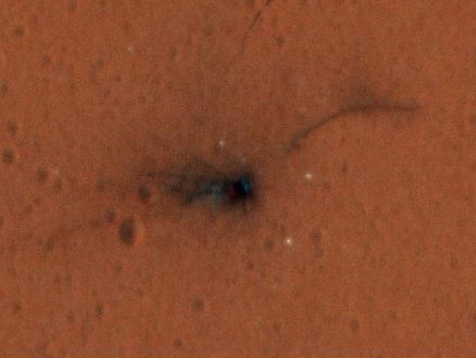 Mars kazası detaylı görüntülendi