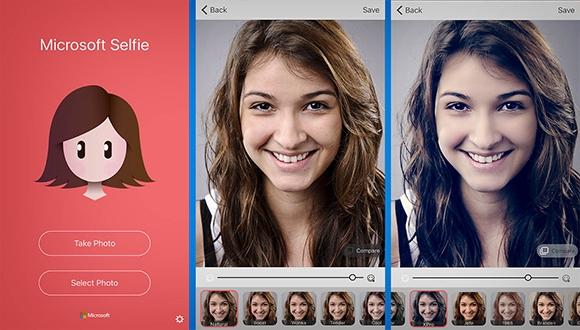 Android için Microsoft Selfie çıktı!