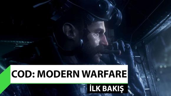 CoD: Modern Warfare oynadık!