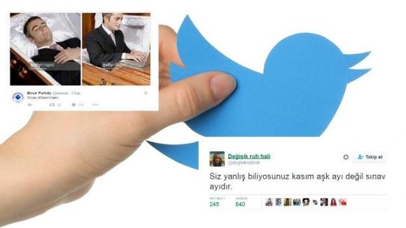 Sınav haftası için atılan en komik tweet'ler