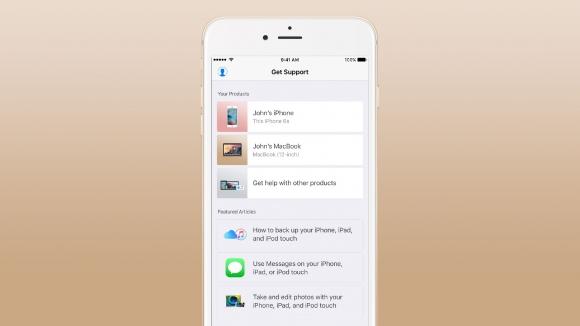 Apple Destek uygulaması çıktı!